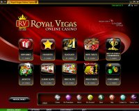 Royal Vegas Casino Lobby