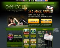 Gaming Club sitio web